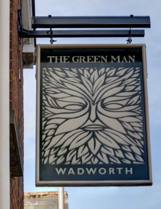 Look out for the Green Man today!