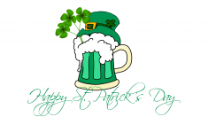Happy St Patrick's Day!  Join us for celebrations