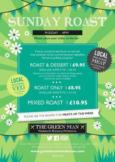 Have you seen our Sunday Roast menu?